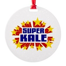 Kale the Super Hero Ornament