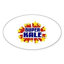 Kale the Super Hero Decal