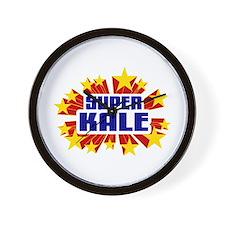 Kale the Super Hero Wall Clock