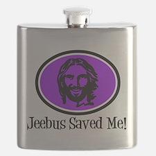 Jeebus Saved Me Flask