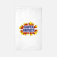 Kamden the Super Hero 3'x5' Area Rug