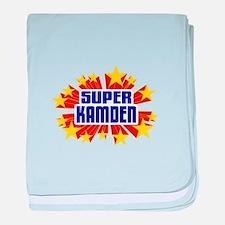 Kamden the Super Hero baby blanket
