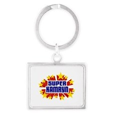 Kamryn the Super Hero Keychains