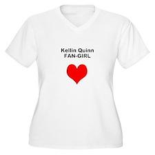 Kellin Quinn fangirl Plus Size T-Shirt