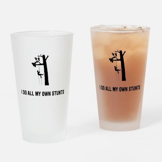 Tree Climbing Drinking Glass