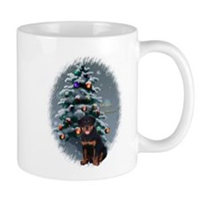 Rottweiler Christmas Small Mug