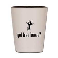 Tree House Shot Glass