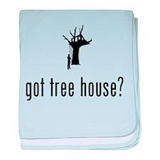 Tree House baby blanket