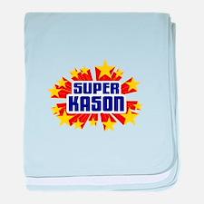 Kason the Super Hero baby blanket