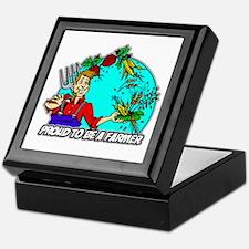 Proud Farmer Keepsake Box