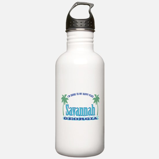 Savannah Happy Place - Water Bottle