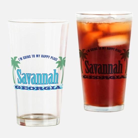 Savannah Happy Place - Drinking Glass