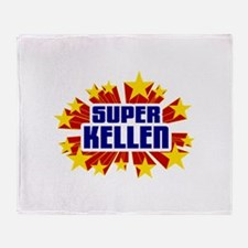 Kellen the Super Hero Throw Blanket