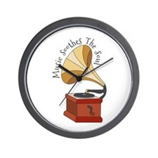 Soothes The Soul Wall Clock