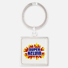 Kelvin the Super Hero Keychains
