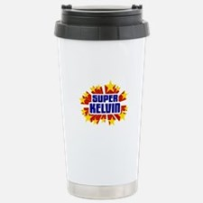 Kelvin the Super Hero Travel Mug
