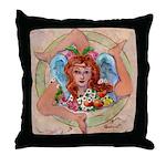 Trinacria Throw Pillow