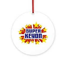 Keyon the Super Hero Ornament (Round)