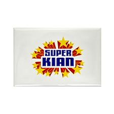 Kian the Super Hero Rectangle Magnet