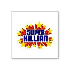 Killian the Super Hero Sticker