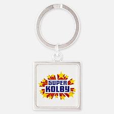 Kolby the Super Hero Keychains
