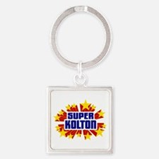 Kolton the Super Hero Keychains