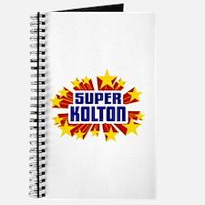 Kolton the Super Hero Journal