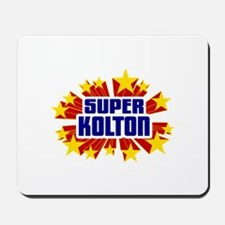 Kolton the Super Hero Mousepad