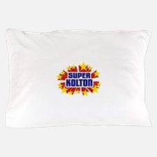 Kolton the Super Hero Pillow Case