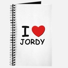 I love Jordy Journal