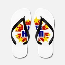 Kyan the Super Hero Flip Flops