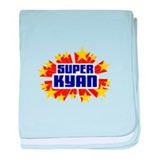 Kyan the Super Hero baby blanket