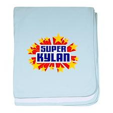 Kylan the Super Hero baby blanket
