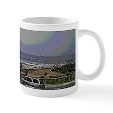 El Porto Beach Scene Small Mug