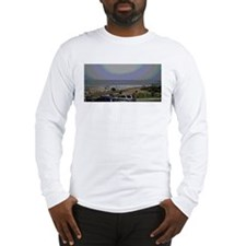 El Porto Beach Scene Long Sleeve T-Shirt