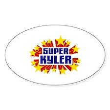Kyler the Super Hero Decal