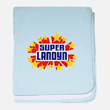 Landyn the Super Hero baby blanket