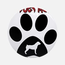 Rottweiler -Size Matters Ornament (Round)