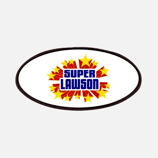 Lawson the Super Hero Patches