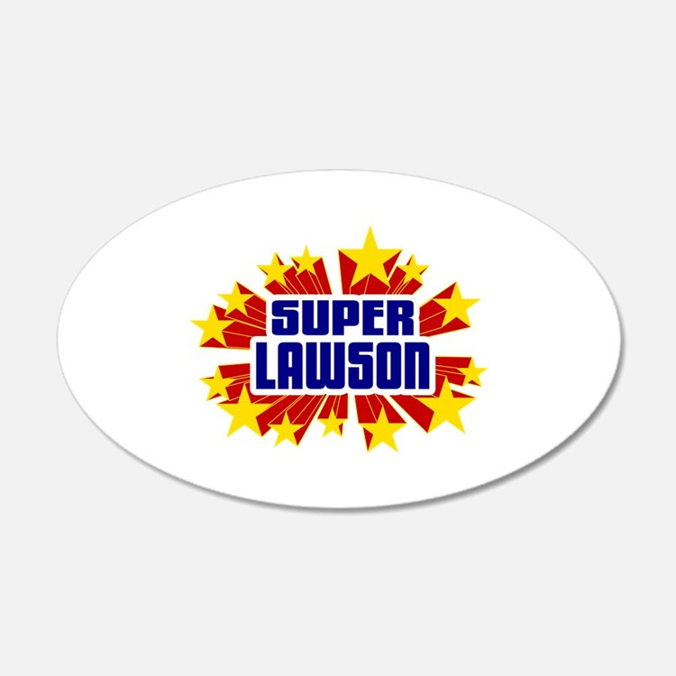 Lawson the Super Hero Wall Decal