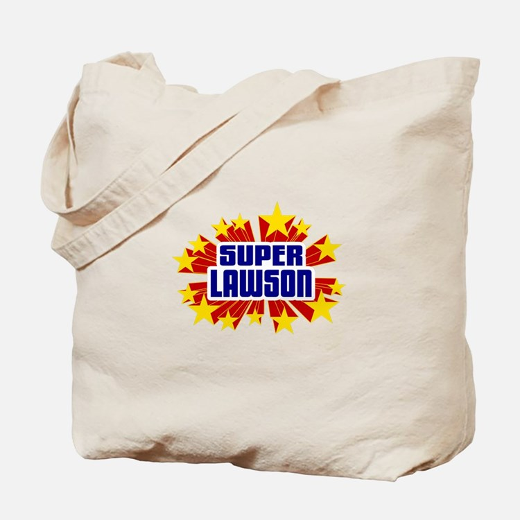 Lawson the Super Hero Tote Bag