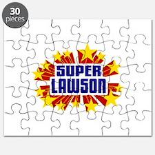 Lawson the Super Hero Puzzle