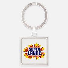 Layne the Super Hero Keychains