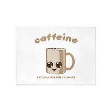 Chibi Caffeine 5'x7'Area Rug