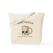 Chibi Caffeine Tote Bag