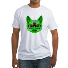 Psychedelic Trippy Cat T-Shirt