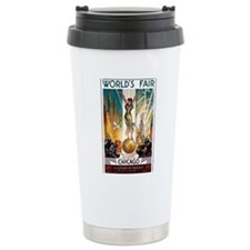Vintage Chicago Worlds Fair B Travel Mug