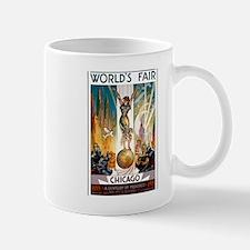 Vintage Chicago Worlds Fair B Mug