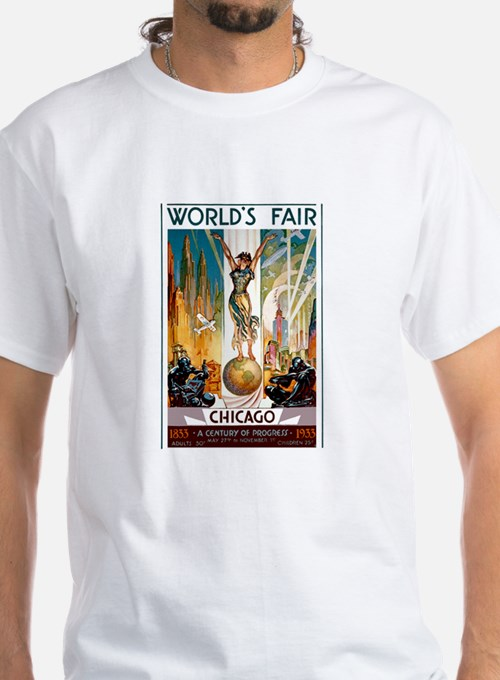 Vintage Chicago Worlds Fair B T-Shirt
