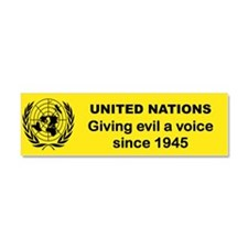 UNITED NATIONS GIVING LIBERALS... Car Magnet 10